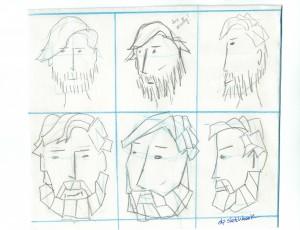 SLP Character Sketch Trial Image