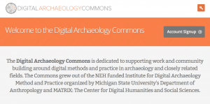 Digital Archaeology Commons is a great online community for support, inspiration, and collaboration.