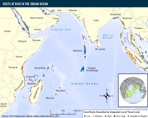 Fig 1 Map of Indian Ocean
