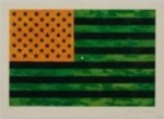 JASPER JOHNS' FLAG (MORATORIUM) (1969)